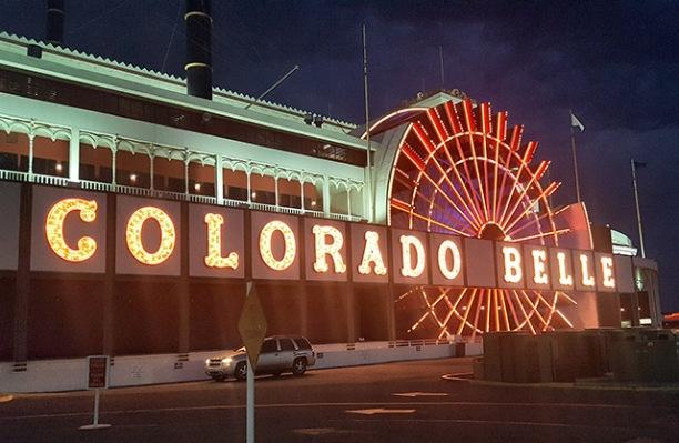 Colorado Belle hotellet ved Colorado River